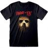 T-shirt Friday The 13th Jason Voorhees shadow Venerdì 13 maglia Uomo ufficiale