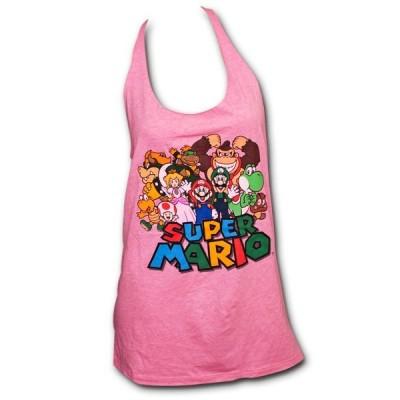 T-shirt canottiera Super Mario donna ufficiale Nintendo