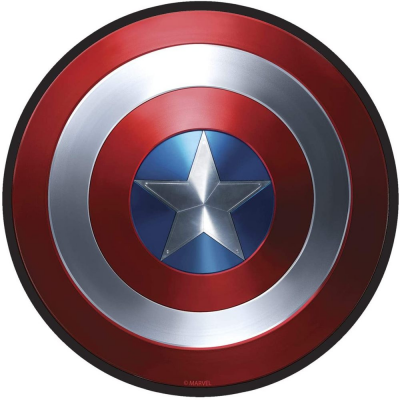 Mouse Pad Marvel Captain America Shield Flexible soft mousepad 22 cm ABYstyle