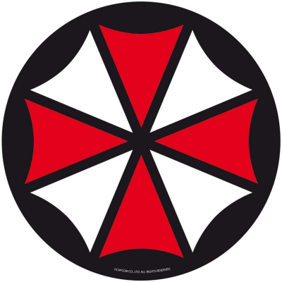 Mouse Pad Resident Evil Umbrella Corp. Flexible soft mousepad 22 cm ABYstyle