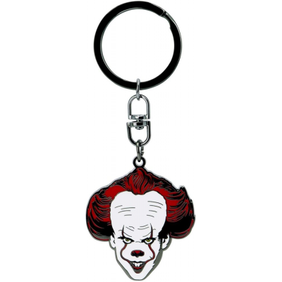Portachiavi IT Chapter Two Pennywise metal Keychain 4cm ABYstyle