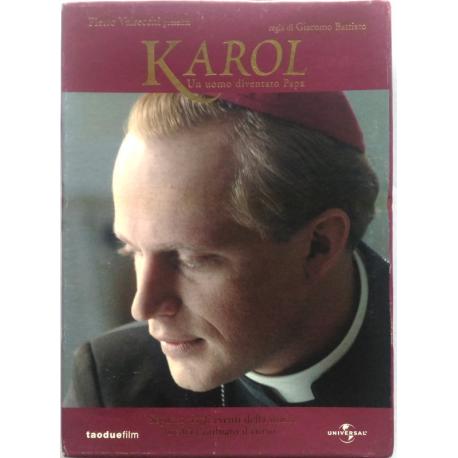 Dvd Karol - Un uomo diventato Papa di Giacomo Battiato 2005 Usato