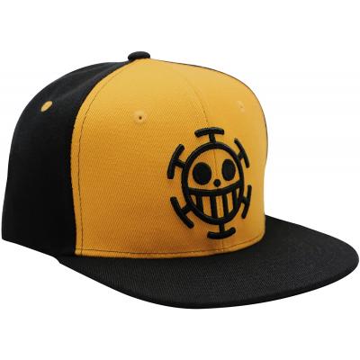 Cappello One Piece Trafalgar Law Logo Black & Yellow Cap Hat ABYstyle