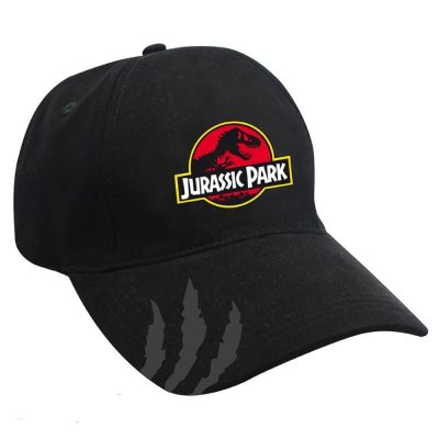 Cappello Jurassic Park logo Black curved bill Cap Hat ABYstyle