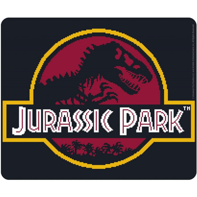 Mouse Pad Jurassic Park Pixel logo Flexible mousepad 23x20 cm ABYstyle