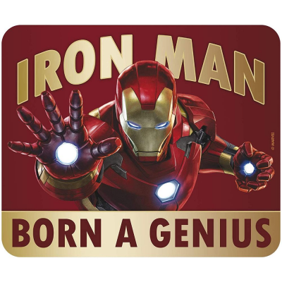 Mouse Pad Iron Man Born to be a genius Flexible soft mousepad 20x23 cm ABYstyle