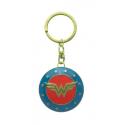 Portachiavi DC Comics Wonder Woman Shield 3D metal Keychain 4cm ABYstyle