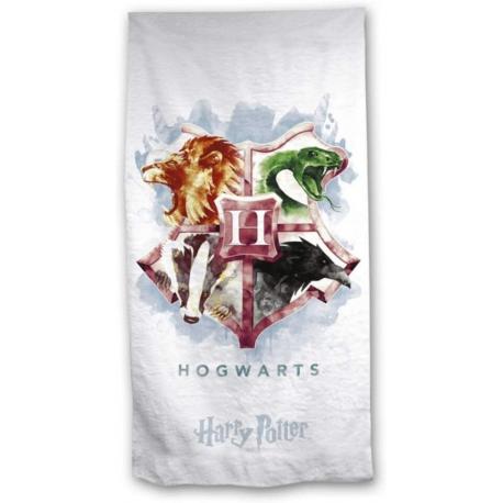 Telo mare asciugamano Harry Potter Hogwarts cotton beach towel 75x140cm