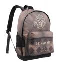 Zaino Harry Potter Hogwarts brown and gold Backpack Karactermania