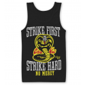 Canottiera Karate Kid - Cobra Kai No Mercy Tank Top Uomo ufficiale Hybris