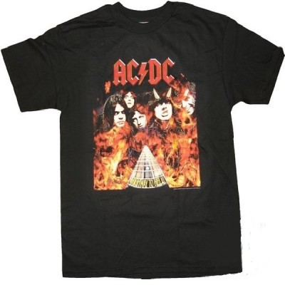 T-shirt Acdc Highway to Hell uomo ufficiale