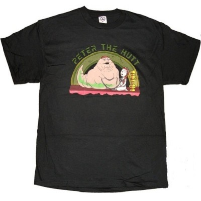 T-shirt Peter Griffin Family Guy Peter the Hutt Uomo ufficiale