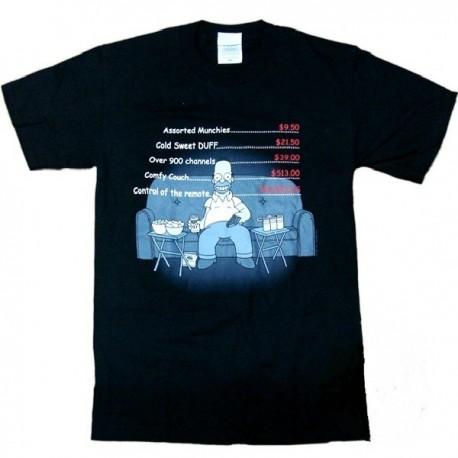 T-shirt Homer Simpson Divano Uomo ufficiale