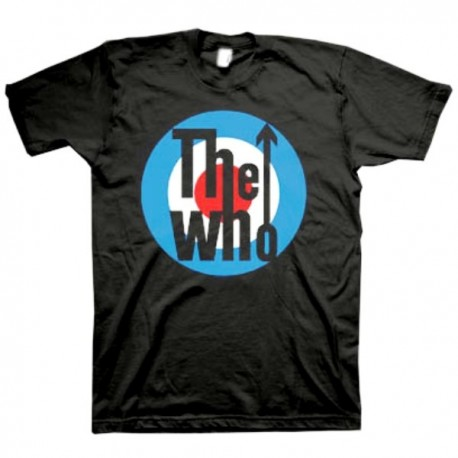 T-shirt The Who Target classic logo Maglia Uomo ufficiale music group