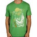 T-shirt Star Wars Yoda maestro Jedi Master Force maglia Uomo ufficiale