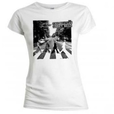 "T-shirt The Beatles Abbey Road"" maglia Donna ufficiale"""