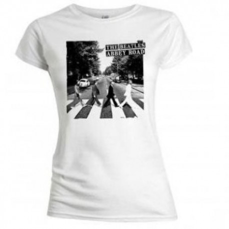 """T-shirt The Beatles Abbey Road"""" maglia Donna ufficiale"""""""