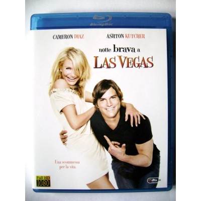Blu-ray Notte brava a Las Vegas con Cameron Diaz e Ashton Kutcher 2008 Usato