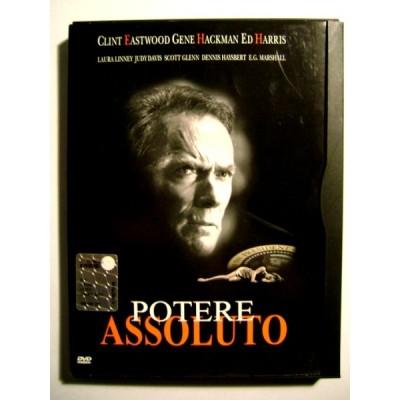 Dvd Potere assoluto edizione Snapper di Clint Eastwood 1997 Usato