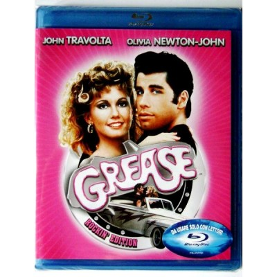 Blu-ray Grease Rockin' edition con John Travolta Nuovo
