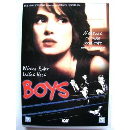 Dvd Boys con Winona Ryder e John C. Reilly 1996 Usato