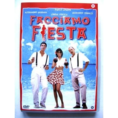 Dvd Facciamo fiesta con Alessandro Gassman 1997 Usato