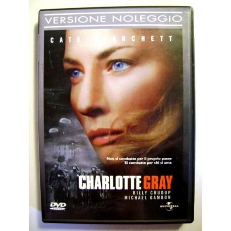 Dvd Charlotte Gray con Cate Blanchett 2001 Usato ottimo versione noleggio