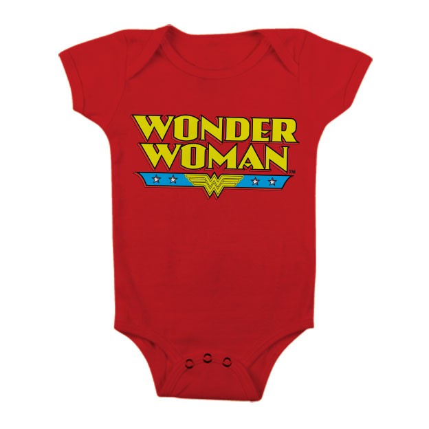 Baby Body bimbo Superman Shield Logo Infant snapsuit ufficiale DC Comics