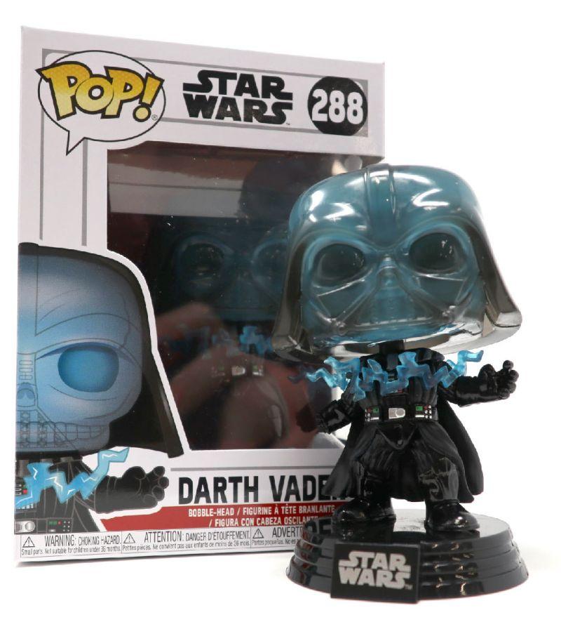 Funko Pop Star Wars Darth Vader electrocuted VINILE PERSONAGGIO IN BOX #288 Nuovo//Scatola Originale